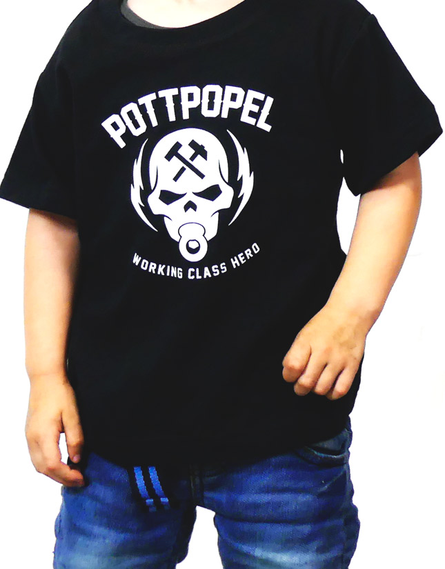 Pottpopel Skull (Black)