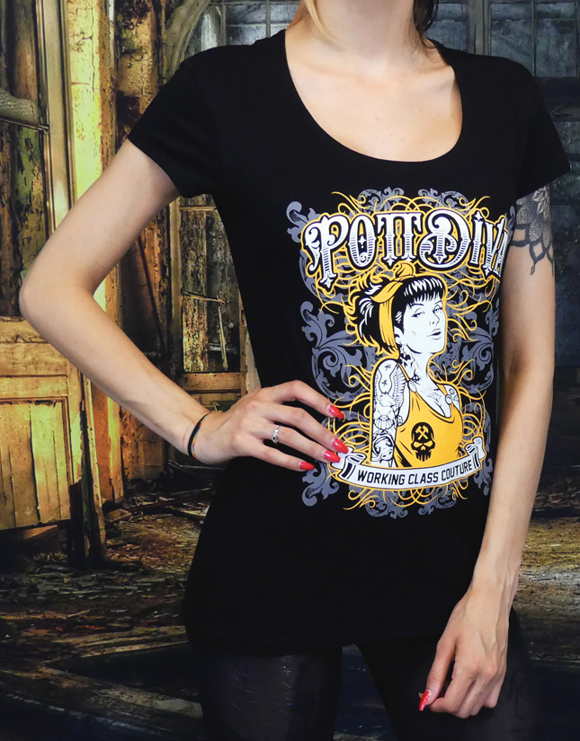 Pottgoere Damen T-Shirt